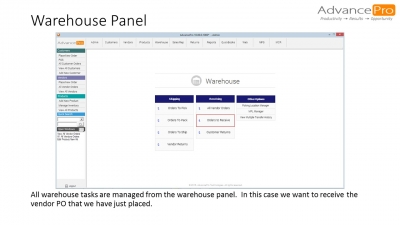 Warehouse Panel