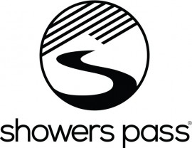 showers pass logo company cycling